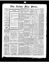 Acton Free Press (Acton, ON)7 Aug 1919
