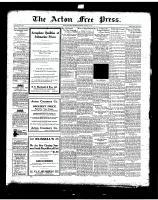 Acton Free Press (Acton, ON), August 21, 1919