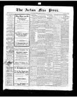 Acton Free Press (Acton, ON)28 Aug 1919