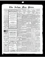 Acton Free Press (Acton, ON)25 Sep 1919