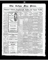 Acton Free Press (Acton, ON)23 Oct 1919