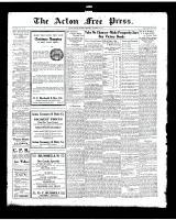 Acton Free Press (Acton, ON), November 13, 1919