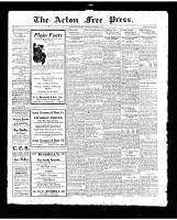 Acton Free Press (Acton, ON)20 Nov 1919
