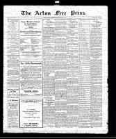 Acton Free Press (Acton, ON)1 Jan 1920