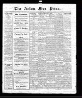 Acton Free Press (Acton, ON)8 Jan 1920