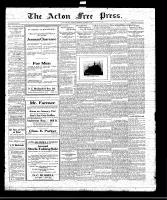 Acton Free Press (Acton, ON)15 Jan 1920