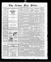 Acton Free Press (Acton, ON)22 Jan 1920