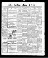Acton Free Press (Acton, ON)29 Jan 1920