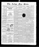 Acton Free Press (Acton, ON)5 Feb 1920