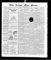 Acton Free Press (Acton, ON), February 5, 1920