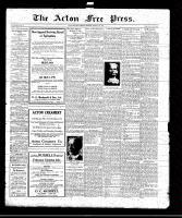 Acton Free Press (Acton, ON)26 Feb 1920