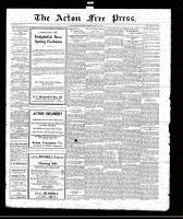 Acton Free Press (Acton, ON)18 Mar 1920