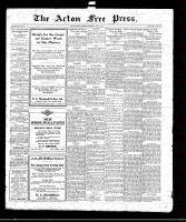 Acton Free Press (Acton, ON)1 Apr 1920
