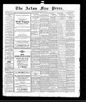 Acton Free Press (Acton, ON)8 Apr 1920