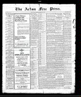 Acton Free Press (Acton, ON)6 May 1920