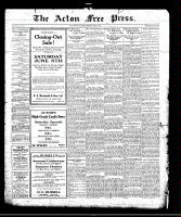 Acton Free Press (Acton, ON)3 Jun 1920