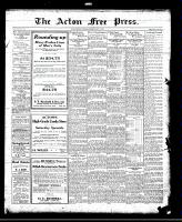 Acton Free Press (Acton, ON)15 Jul 1920
