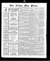 Acton Free Press (Acton, ON)19 Aug 1920