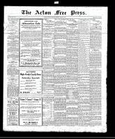 Acton Free Press (Acton, ON)26 Aug 1920