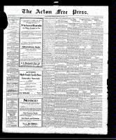 Acton Free Press (Acton, ON), September 2, 1920