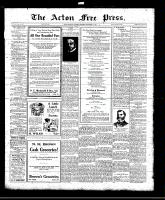 Acton Free Press (Acton, ON)11 Nov 1920