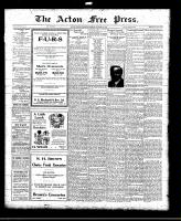 Acton Free Press (Acton, ON)18 Nov 1920