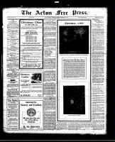 Acton Free Press (Acton, ON)23 Dec 1920