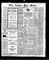 Acton Free Press (Acton, ON), December 30, 1920