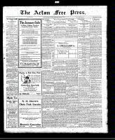 Acton Free Press (Acton, ON)13 Jan 1921
