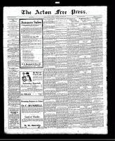 Acton Free Press (Acton, ON), January 20, 1921