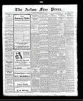Acton Free Press (Acton, ON), January 27, 1921