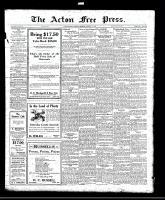Acton Free Press (Acton, ON)17 Feb 1921
