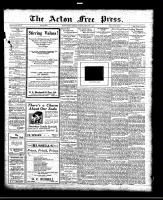 Acton Free Press (Acton, ON)24 Feb 1921
