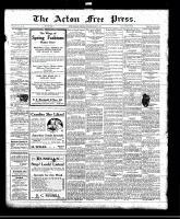 Acton Free Press (Acton, ON), March 3, 1921