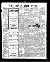 Acton Free Press (Acton, ON)24 Mar 1921