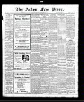 Acton Free Press (Acton, ON)31 Mar 1921