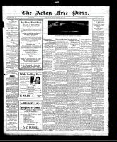 Acton Free Press (Acton, ON)7 Apr 1921