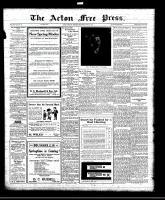 Acton Free Press (Acton, ON), April 14, 1921