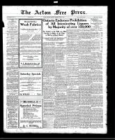 Acton Free Press (Acton, ON)21 Apr 1921