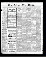 Acton Free Press (Acton, ON)28 Apr 1921
