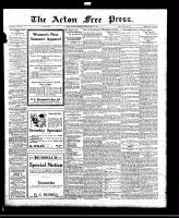 Acton Free Press (Acton, ON), May 19, 1921