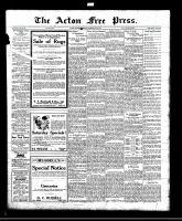 Acton Free Press (Acton, ON)26 May 1921