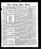 Acton Free Press (Acton, ON)16 Jun 1921