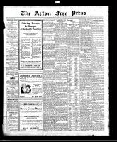 Acton Free Press (Acton, ON)23 Jun 1921