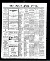 Acton Free Press (Acton, ON)7 Jul 1921