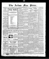 Acton Free Press (Acton, ON), July 14, 1921
