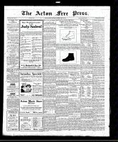 Acton Free Press (Acton, ON)28 Jul 1921