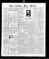 Acton Free Press (Acton, ON)18 Aug 1921