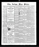 Acton Free Press (Acton, ON), September 15, 1921