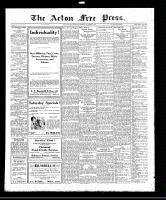 Acton Free Press (Acton, ON), September 22, 1921